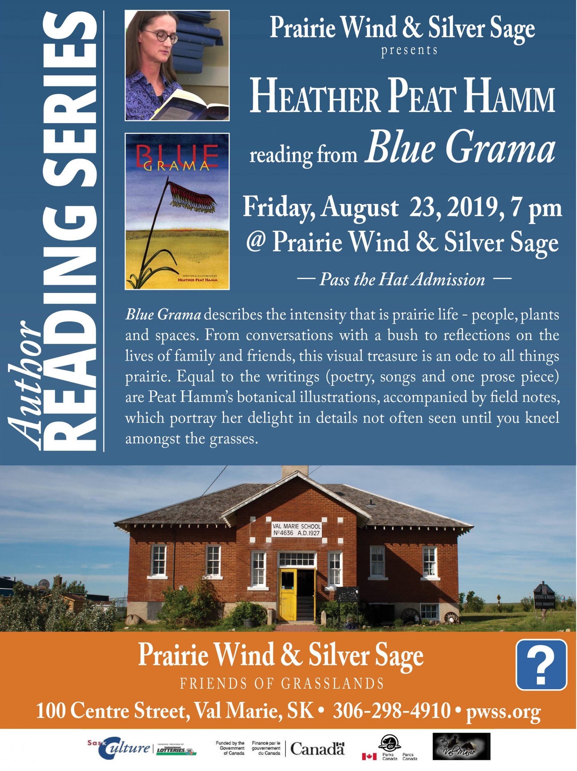 Author Reading: Heather Peat Hamm - August 23, 2019