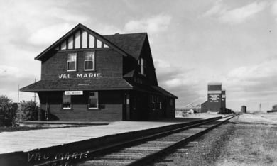 Canadian Pacific Railway in Val Marie