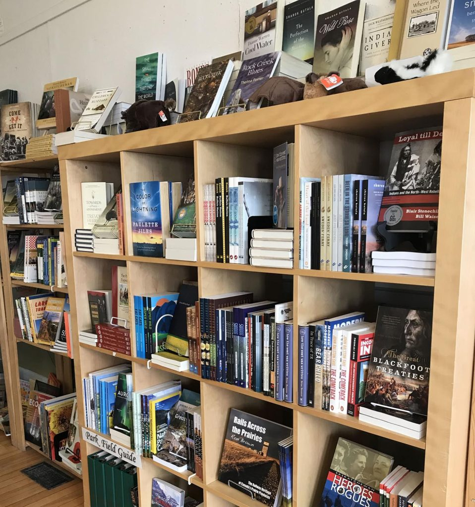 Great selection of regional books at Prairie Wind
